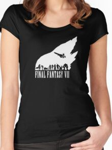 Final Fantasy VII - The meteor Women's Fitted Scoop T-Shirt