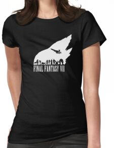 Final Fantasy VII - The meteor Womens Fitted T-Shirt