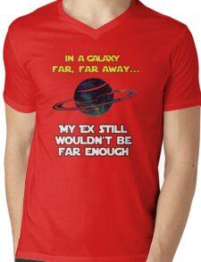 Still not Far Enough Mens V-Neck T-Shirt
