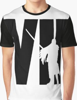 FF7 - Sephiroth - Black Graphic T-Shirt