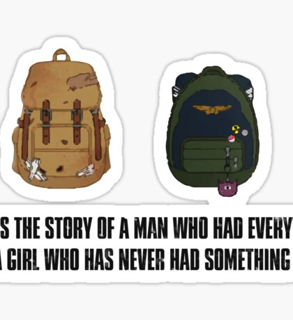 The Last Of Us Backpacks Sticker