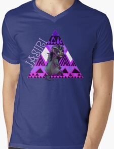 Girl Hyena  Mens V-Neck T-Shirt