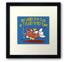 They Laughed...  Framed Print