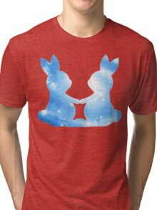 Galaxy Bunnies Tri-blend T-Shirt