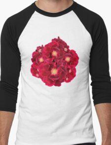 Floral Ink Men's Baseball ¾ T-Shirt