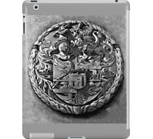 Antique Print of Genetti Coat-of-Arms iPad Case/Skin