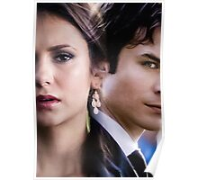 Damon & Elena - The Vampire Diaries Poster