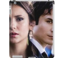 Damon & Elena - The Vampire Diaries iPad Case/Skin
