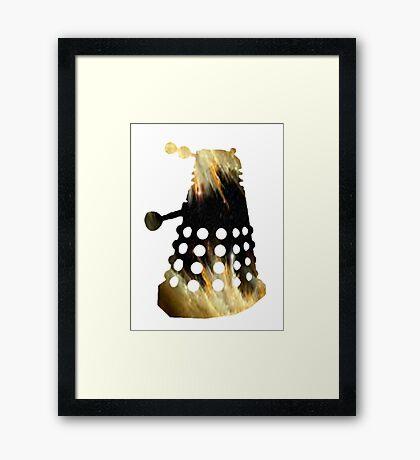 Galaxy Dalek Framed Print