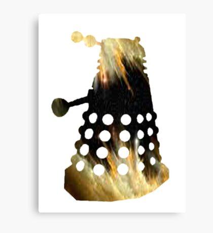 Galaxy Dalek Canvas Print