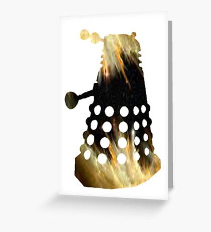 Galaxy Dalek Greeting Card