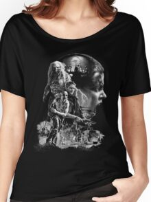 SIFURIO - BW Women's Relaxed Fit T-Shirt