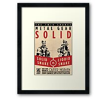 The Twin Snakes Framed Print