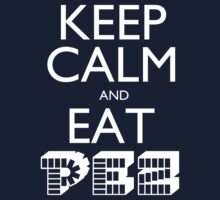 Keep Calm and Eat PEZ One Piece - Short Sleeve