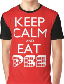 Keep Calm and Eat PEZ Graphic T-Shirt