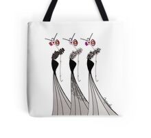 LOVELY LADIES IN BLACK Tote Bag