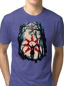 Forest Sun Tri-blend T-Shirt