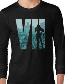 FF7 - Tifa - Color Long Sleeve T-Shirt