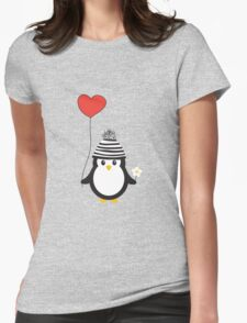 Romeo the Penguin Womens Fitted T-Shirt