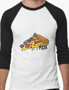 Delta Gam wants PIZZA Men's Baseball ¾ T-Shirt