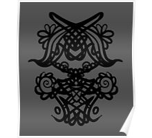 ink pattern Poster