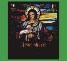 Jesus Shaves Baby Tee