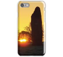 Avebury Avenue Sunrise (2) iPhone Case/Skin