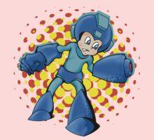 Mega Man In A Mega Jam Baby Tee