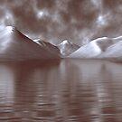 Wastwater Digital Painting by Steven  Lee