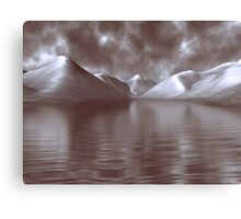 Wastwater Digital Painting Canvas Print