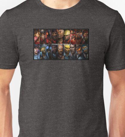 TF2 Red vs Blue Unisex T-Shirt