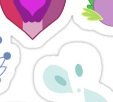 My little Pony - Foals of Ponyville Cutie Mark (with Nyx + Spike) V2 Sticker
