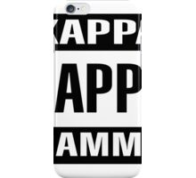 Explicit Content Kappa Kappa Gamma iPhone Case/Skin