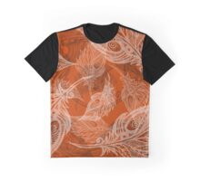 feather pattern Graphic T-Shirt