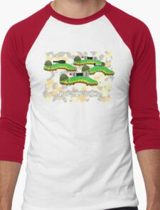 An Army of Caterpillars! Men's Baseball ¾ T-Shirt