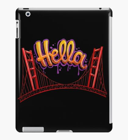 Hella - SF [Black] iPad Case/Skin