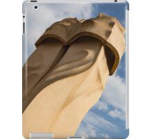 Whimsical Chimneys - Antoni Gaudi's Svelte Pair - Right iPad Case/Skin