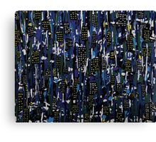Stormy Night in the City Canvas Print
