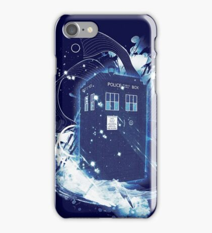 waves of space and time iPhone Case/Skin
