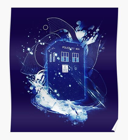 waves of space and time Poster