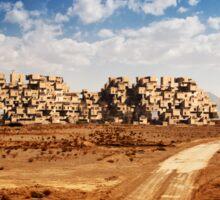 Desert Habitat Sticker