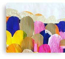 Coloured Boulders Canvas Print