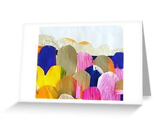 Coloured Boulders Greeting Card