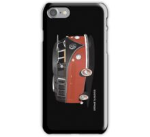 21 Window VW Bus Red Black iPhone Case/Skin
