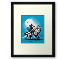 princess monokami Framed Print