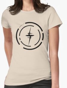 Kiznaiver (Black) Womens Fitted T-Shirt