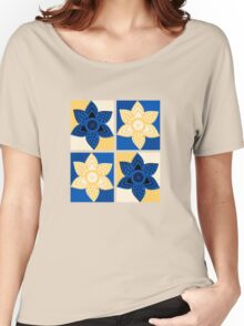 Daffodils pattern Women's Relaxed Fit T-Shirt