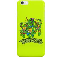 Ninja turtles iPhone Case/Skin