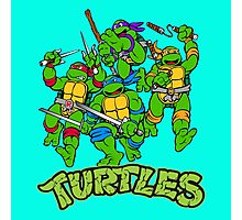 Ninja turtles Photographic Print