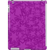 Purple Star Pattern iPad Case/Skin